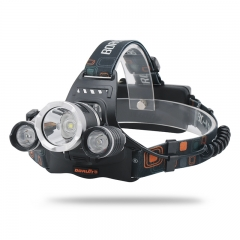 Boruit RJ-3000 Headlamp USB LED Lamp 5000LM