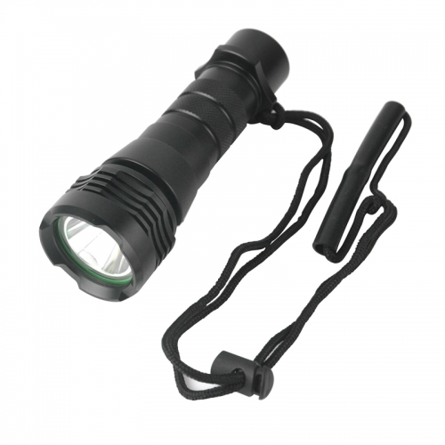 Magnetic Diving Light Flashlight, L2 Waterproof Torch Lamp for Night Scuba Mount Diving