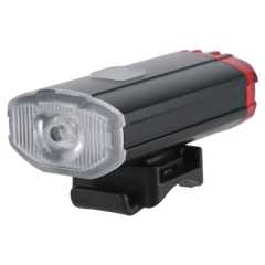 Wholesale OEM Waterproof Build-in Battery Usb Rechargeable Bicycle lanterna Bike Front Light LED