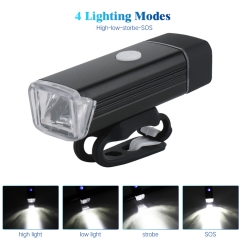 2019 Hot Sell high bright 800MAH USB rechargeable IP64 waterproof bicycle head Light bike front light