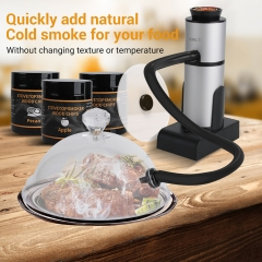 Handheld Food Kitchen Smoker Infuser Portable Smoking Gun Wood Smoker Infuser for Meat Salmon